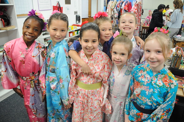 """""""Children in Japan"""" Presented by Second Graders"""