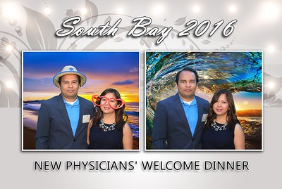 South Bay 2016 New Physicians' Welcome Dinner