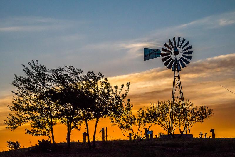Lubbock Windmill
