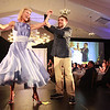 Northeast ARC Residential Services participant Ryan Harrigan dances with Northeast Arc advisory board member  RoAnn Costin during the The Northeast Arc's annual Evening of Changing Lives, Saturday, April 29, at Danversport Yacht Club.She is founder of Wilderness Point Investments LLC. [Photo / Nicole Goodhue Boyd]