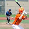 Apr. 29, 2017. Pete Frates High School Baseball Tournament, Fraser Field, Lynn. Ipswich vs. Lynnfield high school baseball. Lynnfield's Justin Juliano delivers a pitch to Ipswich's Brendan Duffy.