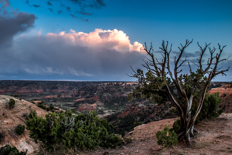 Palo Duro Canyon Clouds