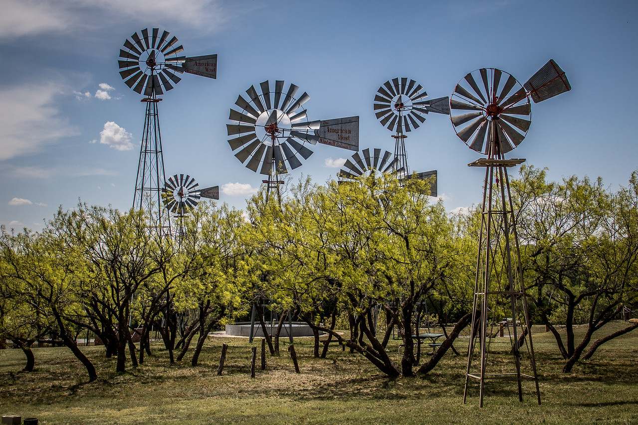 Lubbock Windmill Park