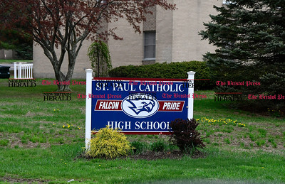 4/27/2017 Mike Orazzi | Staff St. Paul Catholic High School in Bristol.