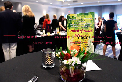 4/1/2017 Mike Orazzi | Staff The Bristol Hospital Development Foundation's Festival of Wines & Spirits held at the DoubleTree by Hilton in Bristol Saturday night. The money raised this year will go toward a future renovation project at the hospital's Emergency Center.