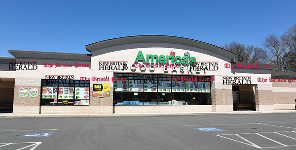 041817 Wesley Bunnell | Staff America's Food Basket has opened at 250 Allen St in New Britain with a planned grand opening for later in the month.
