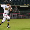 042617  Wesley Bunnell | Staff<br /> <br /> New Britain Bees vs Lancaster Barnstormers on Wednesday evening. Mike Crouse (10)