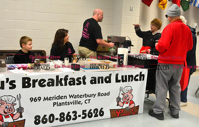 3/26/2016 Mike Orazzi | Staff Lou's Breakfast and Lunch during the second annual Connecticut Prime Time Senior Fair held at Bristol Eastern High School Saturday.