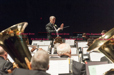 """Nov. 15, 2015 -The Plainville Wind Ensemble under the direction of Ken Bagley is hosting """"Legacy of honor: from Gettysburg to Stockbridge"""" at CCSU (Ray Shaw Special to the Press)"""