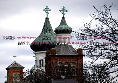 4/8/2017 Mike Orazzi | Staff St Mary's Ukrainian Orthodox Church at 54 Winter St. in New Britain.