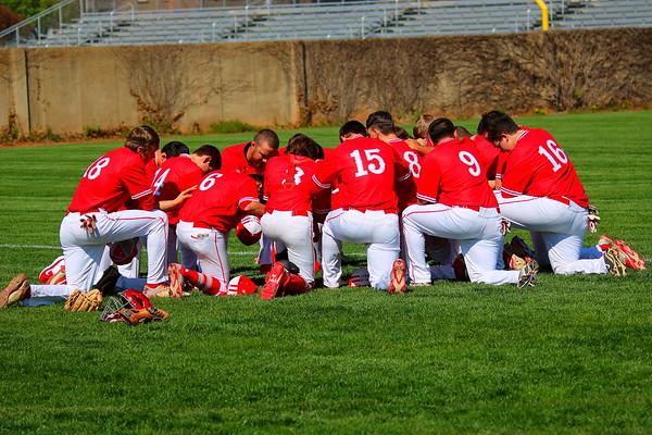 WHS Varsity Baseball vs Collegiate 040717