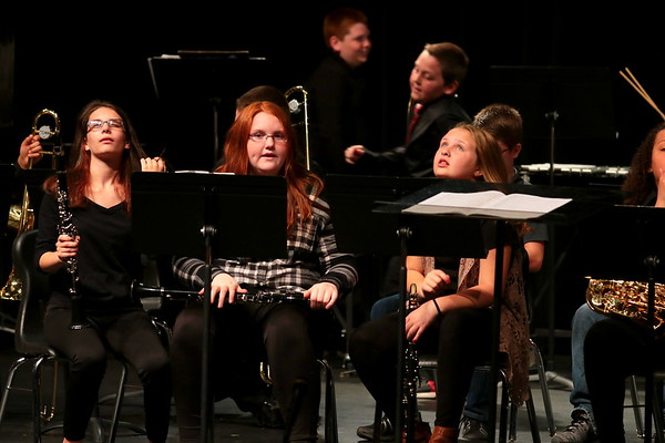 WMS/WHS SPRING BAND CONCERT  042517