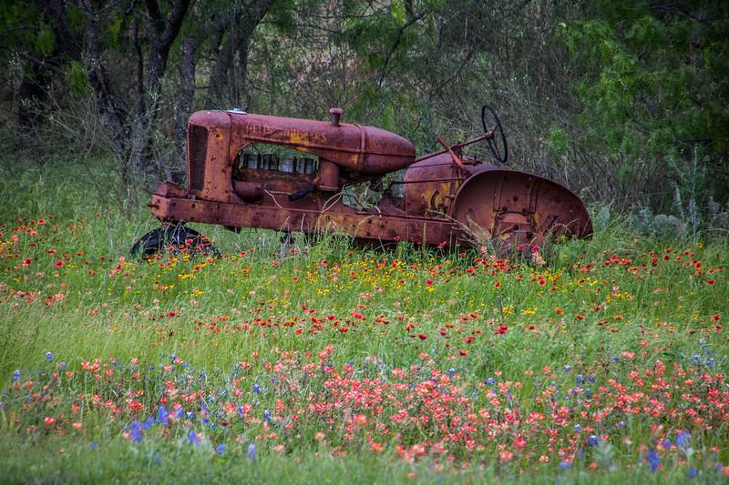 Old Tractor, Kingsland Texas