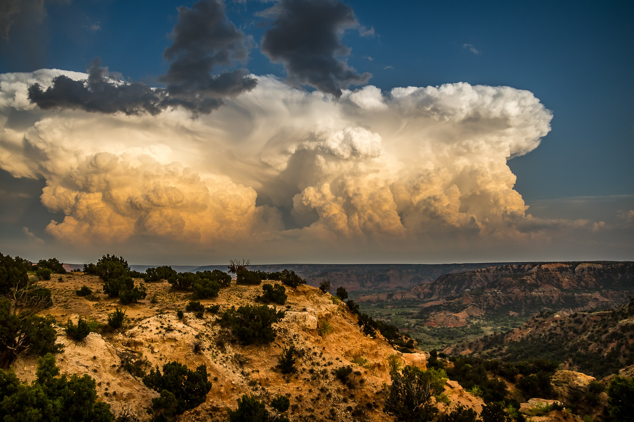 Storm Towers at Palo Duro Canyon