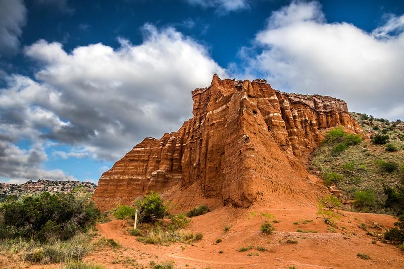 Palo Duro Canyon Erosion
