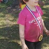 Hmmm, I finished the race....now I'm going to do the mud crawl again and again!