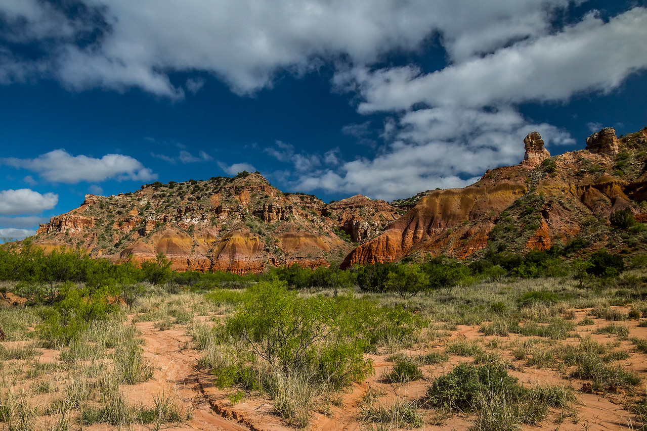Palo Duro Canyon Springtime Colors