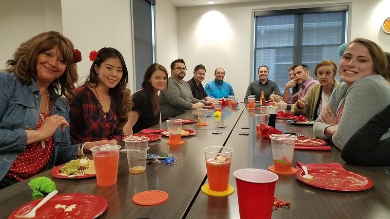 April 2018: Taco & Nacho Bar Spring Lunch Event