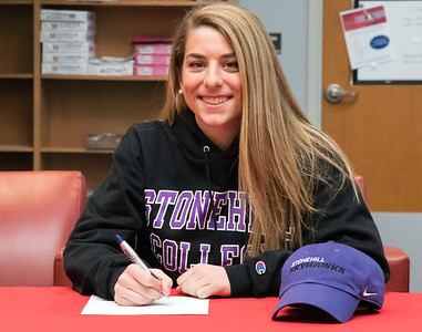 04/05/18  Wesley Bunnell | Staff  Berlin High School student athlete Julia Sisti signed her letter of intent on Thursday morning to play soccer for Stonehill College.