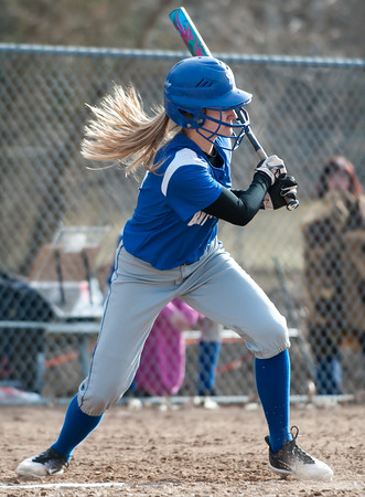 04/09/18 Wesley Bunnell   Staff Southington softball defeated Bristol Eastern 6-1 at Southington High School on Monday afternoon.