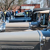 04/21/18  Wesley Bunnell | Staff<br /> <br /> A long row of Model A Ford's are shown at the Klingberg Family Center. The Klingberg Vintage Motorcar Series held their April event on Saturday with a focus on the Ford Model A.