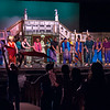 04/21/18  Wesley Bunnell | Staff<br /> <br /> The Older Members Association of the Boys and Girls Club of Bristol Family Center held their 77th annual OM Show on Saturday April 21 at St. Paul Catholic High School. The show was Disney themed and titled Wish Upon a Star.  Dancers are in the aisle as well as the stage for an Aladdin performance.