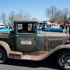 04/21/18  Wesley Bunnell | Staff<br /> <br /> A 1931 Ford Model A truck featuring a Texaco gas station sign owned by Ralph Hermann sits in a row at the Klingberg Family Center. The Klingberg Vintage Motorcar Series held their April event on Saturday with a focus on the Ford Model A.