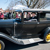 04/21/18  Wesley Bunnell | Staff<br /> <br /> Brandon Barriello drives his 1930 Ford Model A accompanied by Rebecca Nowak out of the parking lot at Klingberg Family Centers. The Klingberg Vintage Motorcar Series held their April event on Saturday with a focus on the Ford Model A.