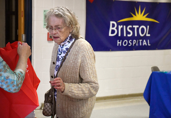 4/14/2018 Mike Orazzi | Staff Lois Tillman during the 4th annual Prime Time Senior Fair held at Bristol Eastern High School Saturday.