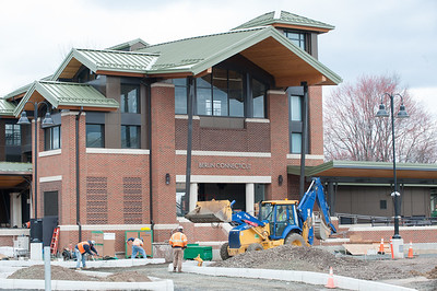 04/17/18  Wesley Bunnell   Staff  The main building of the new Berlin Train Station undergoing construction on Tuesday afternoon.