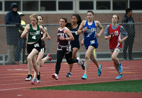 4/27/2018 Mike Orazzi | Staff The Bristol Eastern High School track invitational held on Friday.