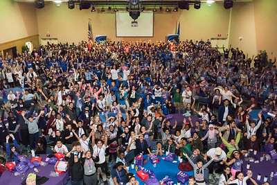 04/27/18  Wesley Bunnell | Staff  The CCSU Ana Grace Project held Love Wins: Finish the Race on Friday to give young middle school students from across New Britain a college experience for the day and have them explore their possibilities. CCSU volunteers included many student athletes. Hundreds of middle school students along with CCSU volunteers at the conclusion of the event.