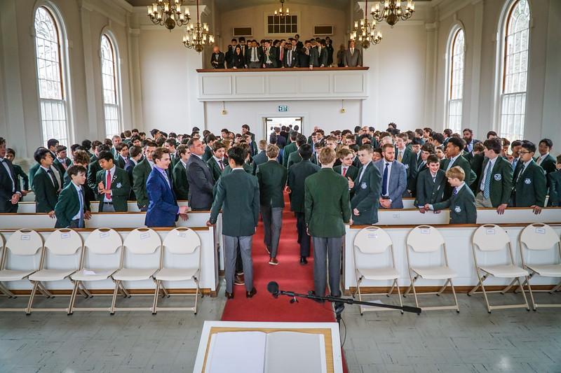 Students Speak at Chapel