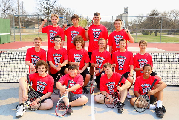 WHS Boys Tennis 2018   041318