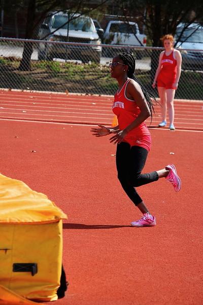 WHS Track & Field @ Belle Plaine HS  041018