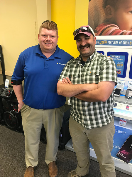 """We also surprise popped in to see my friend Adam at work.  He sells $250 TVs to people with shitty credit for $1800 on a weekly payment plan.  When I used to be a cop in Ohio, we'd compare notes on customers we had in common... """"oh, that guy stole a washing machine from you, hmm, he also has a warrant so let me go arrest him and you can come collect your washing machine while I'm dragging him out to the car...""""."""