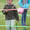 Kale Shaffer, 5, waits for the annual Easter Egg Hunt to begin at Jacks Park in Monterey on Saturday April 20, 2019. (David Royal/ Herald Correspondent)