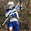 BRYAN EATON/Staff Photo. Georgetown's Holden #20 gets the ball out of his team's territory.