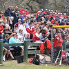 BRYAN EATON/Staff photo. The stands were full at Amesbury Town Park for the ceremony and game with Masconomet.