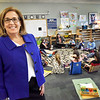 BRYAN EATON/Staff Photo. Jonnie Lyn Evans is taking over as director of the River Valley Charter School in Newburyport.