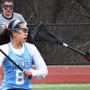 BRYAN EATON/Staff Photo. Triton's Kate Trojan looks for an open player in a match against Haverhill.