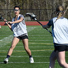 BRYAN EATON/Staff Photo. Triton freshman Kate Trojan in practice on Thursday.