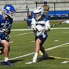 BRYAN EATON/Staff Photo. Jake Dolcimascolo looks past a Methuen defender for an open teammate.