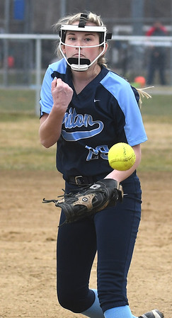 JIM VAIKNORAS/Staff photo Triton's Katherine Quigley against Pentucket at Triton Friday.