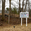 JIM VAIKNORAS/Staff photo Sign on Scotland Road in Newbury for the future home of Newbury Golf Center and Ice Cream.