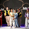 "JIM VAIKNORAS/Staff photo The ensemble performs the opening number ""Arabian Nights"" during a rehearsal for Triton Regional Middle School production of Aladdin at Triton High School Saturday."