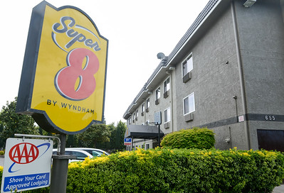 The exterior of the Chico Super 8 is seen Wednesday in Chico. (Matt Bates -- Enterprise-Record)
