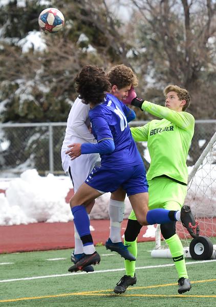 Boulder at Broomfield Boys Soccer