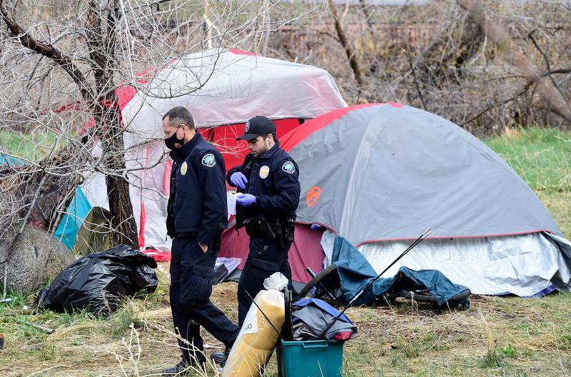 Homeless Encampment Taken Down in Boulder