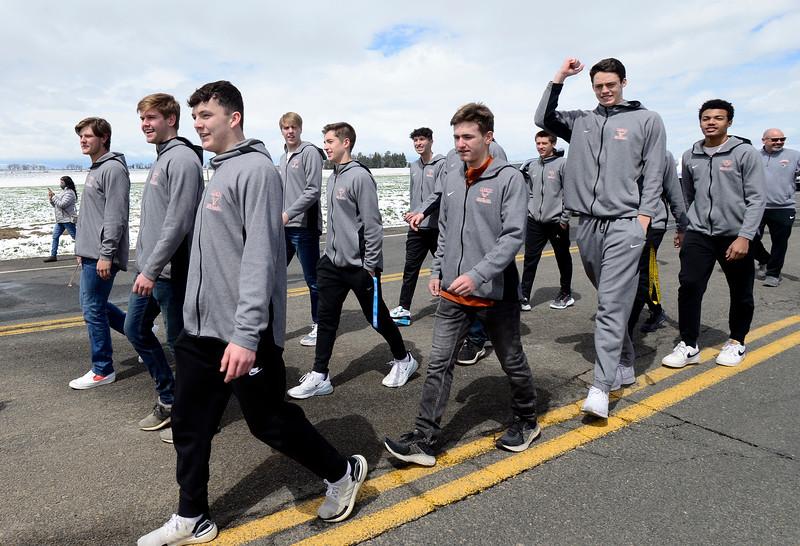 Mead HS Boys Basketball Parade
